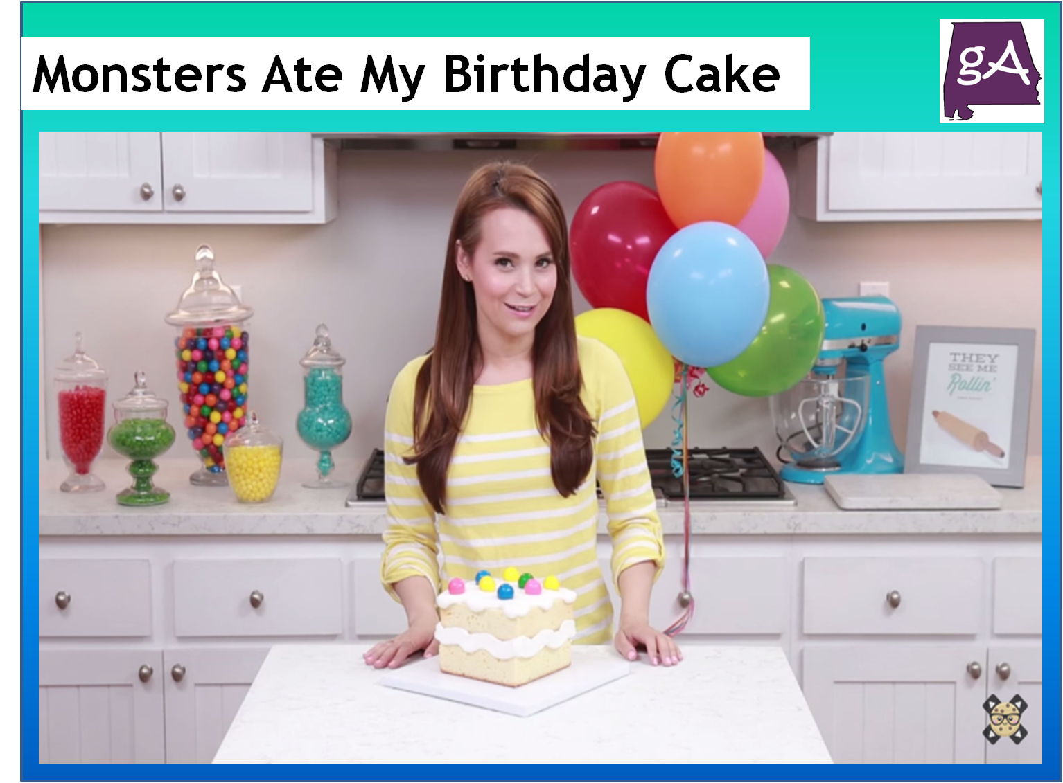 Check Out Nerdy Nummies Make A Birthday Cake Monsters Would Eat