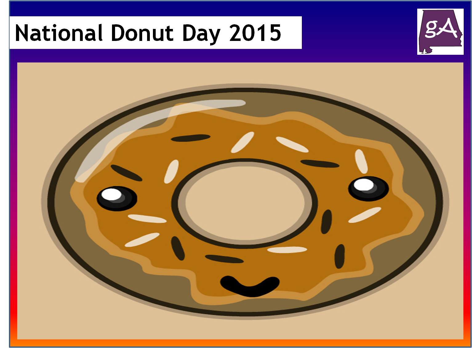 Original National Donut Day 2015  Geek Alabama