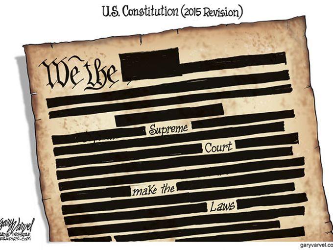 Animation Monday Supreme Court Political Cartoons 2015 Geek Alabama