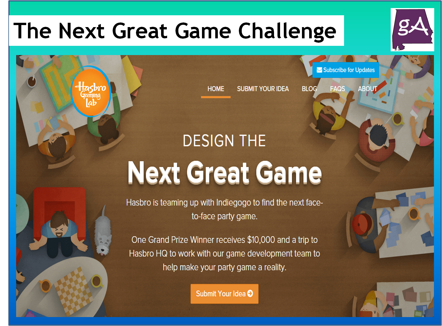 Hasbro And Indiegogo Are Partnering For The Next Great Game Challenge