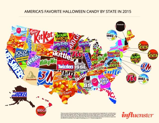 Influenster-Halloween-Candy-Map