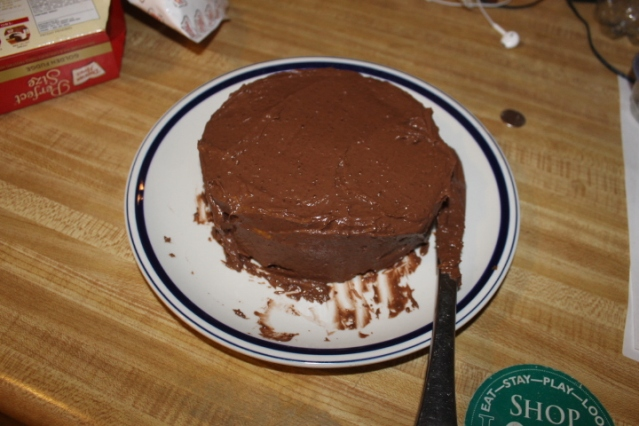 Duncan Hines Cake Mix Chocolate Frostong