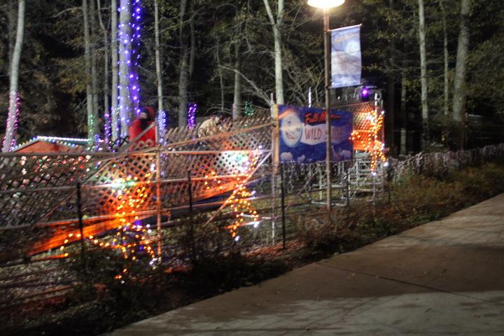 Birmingham Zoo Light Safari