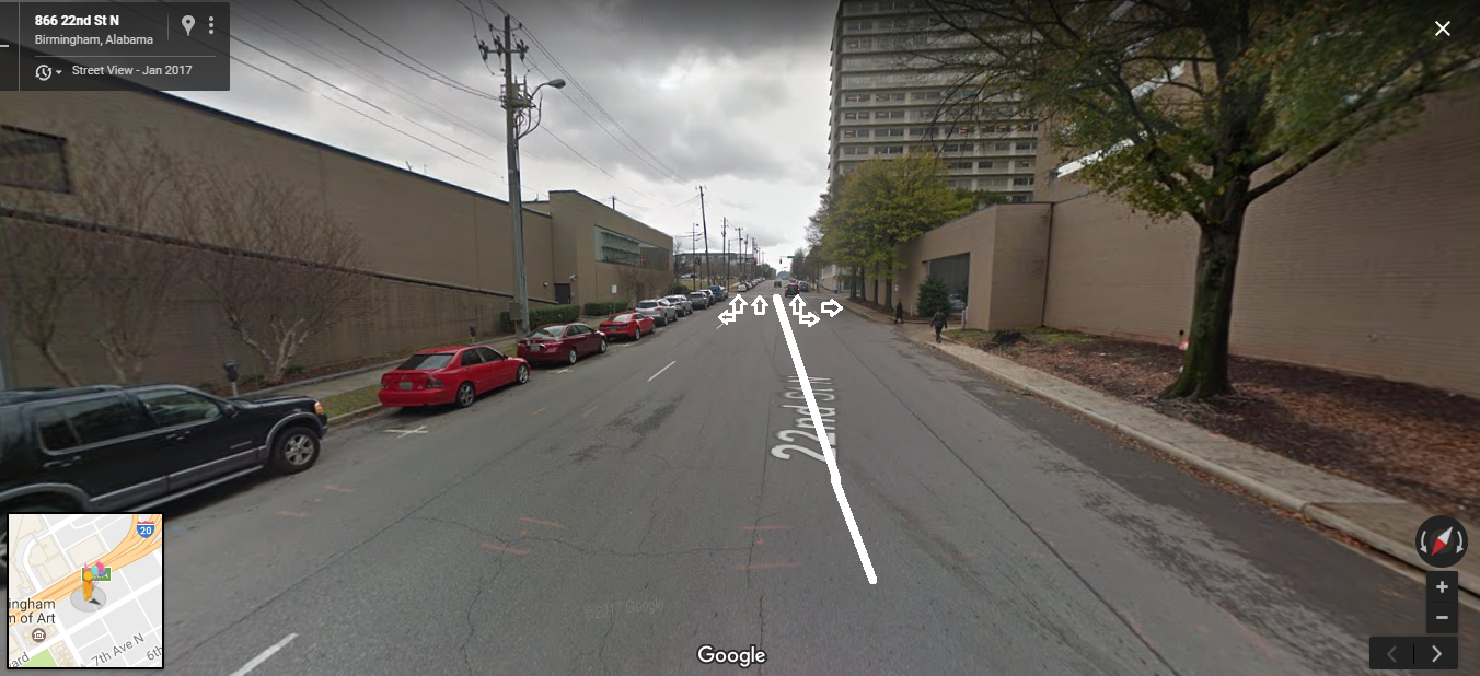 Roadscapes: The Stupid 22nd Street North New Traffic Pattern From ALDOT