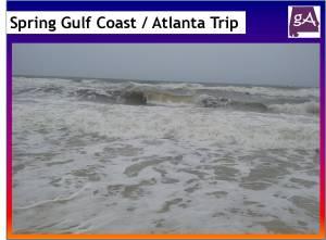 My Spring Trip To The Gulf Coast And To Atlanta – Geek Alabama