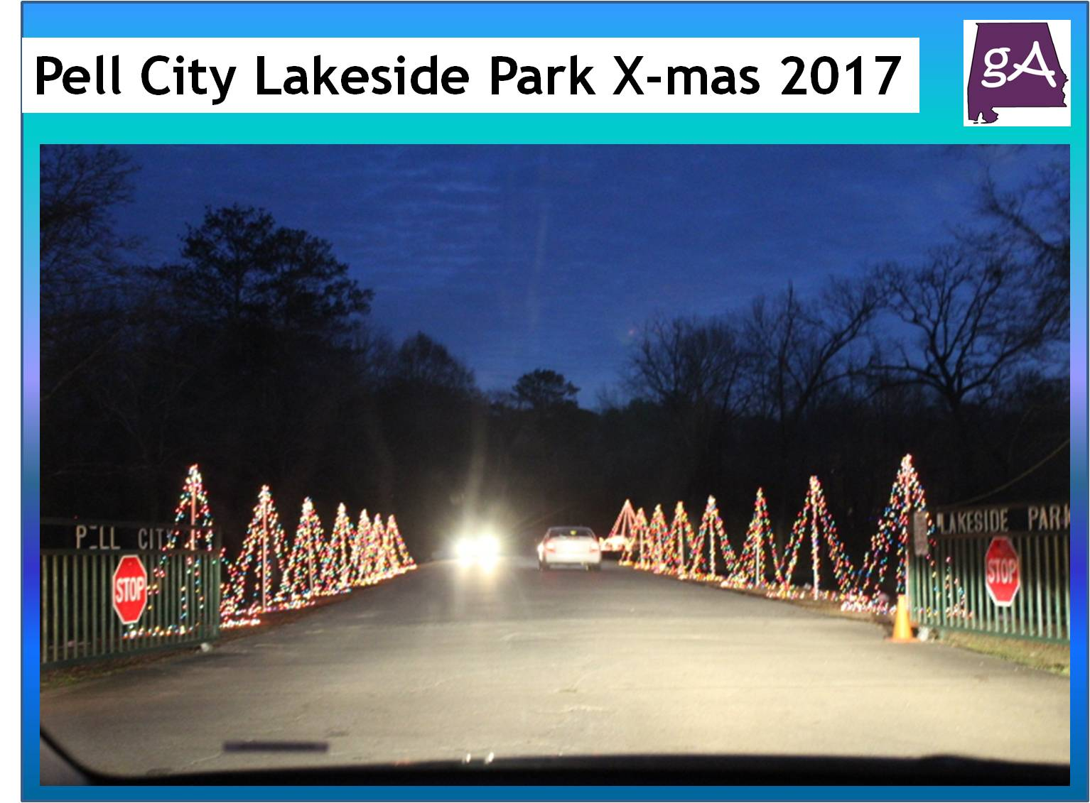 See Pictures From Christmas At Lakeside Park In Pell City 2017 ...