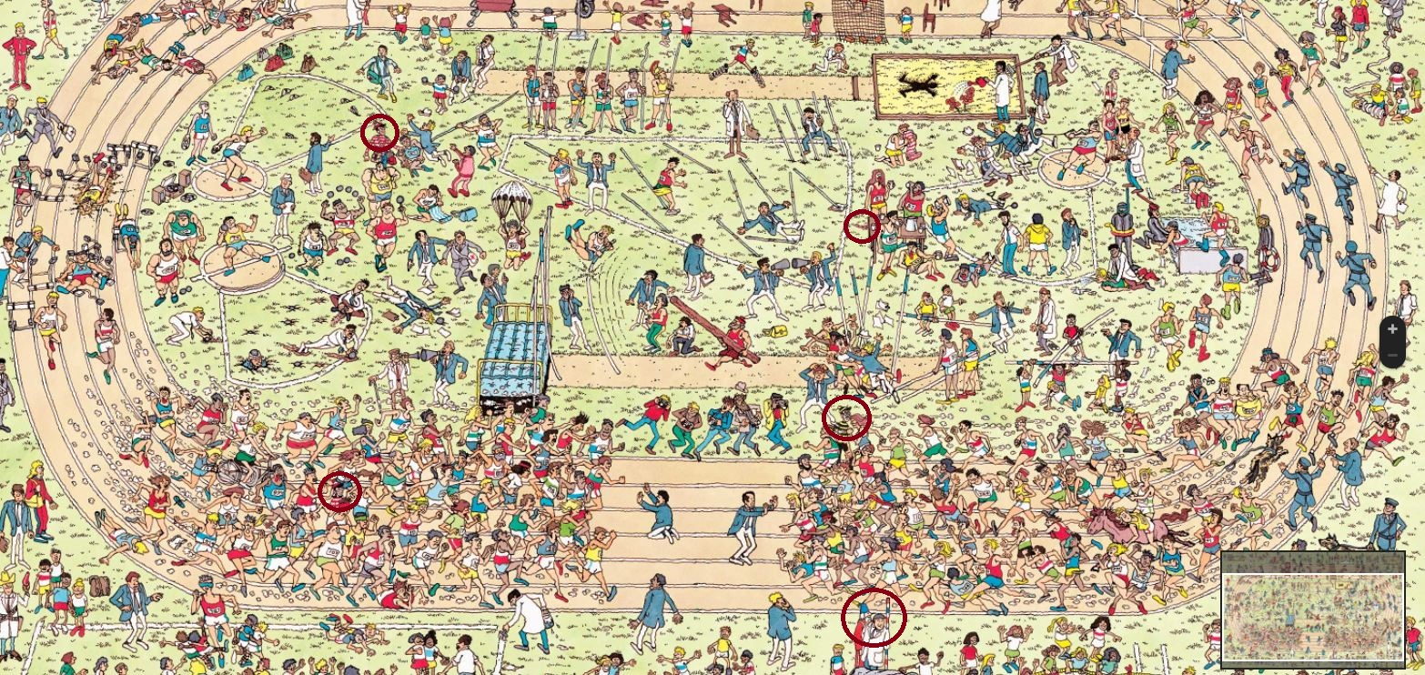 Google Map Of Southern Spain.Here Is How To Cheat Your Way Through The Where S Waldo Game On