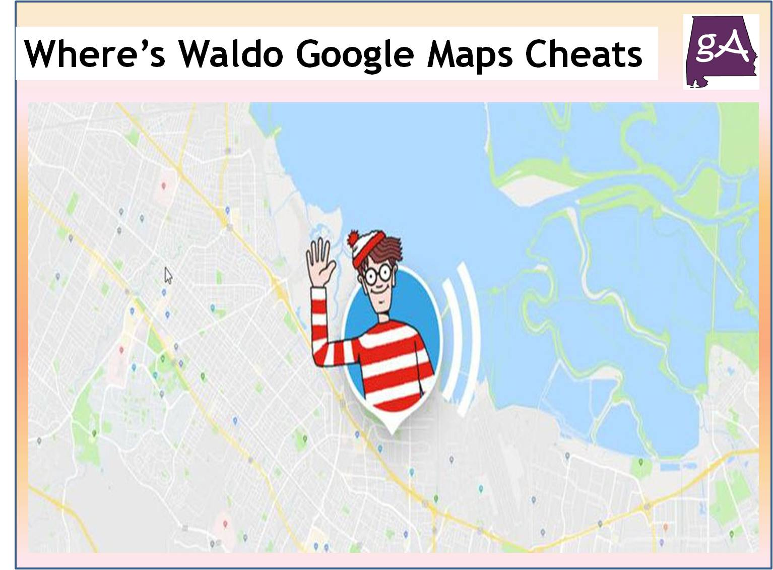Waldo Ohio Map.Here Is How To Cheat Your Way Through The Where S Waldo Game On