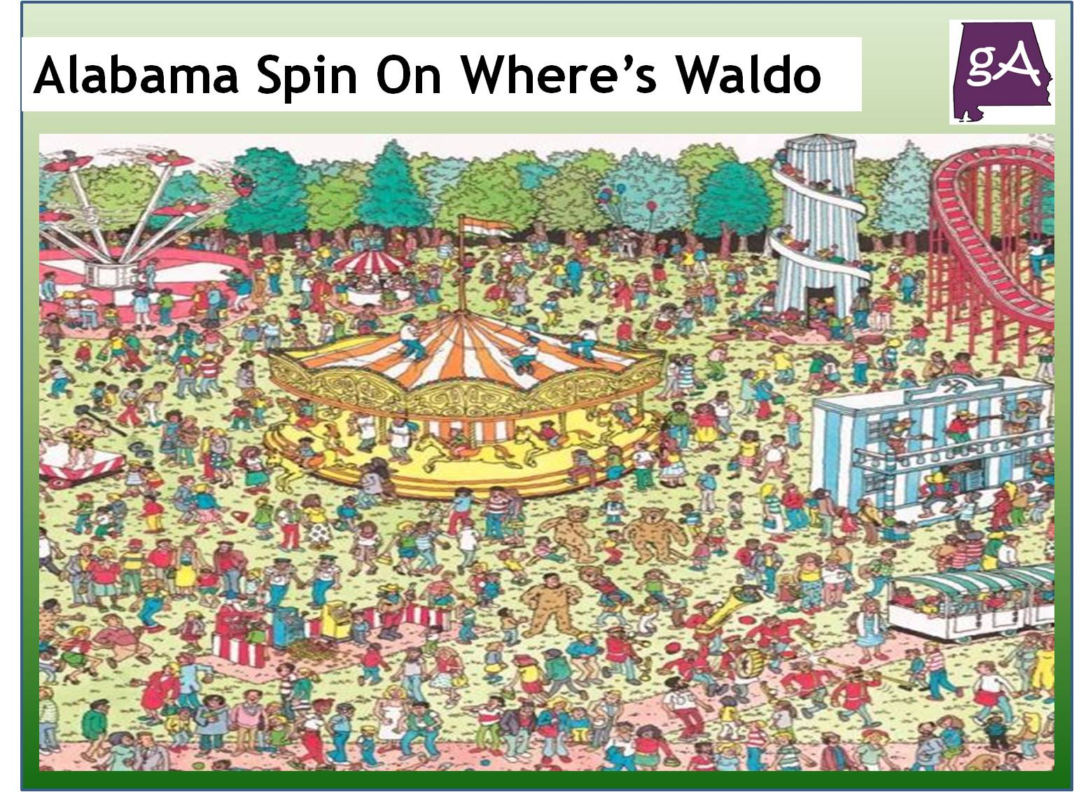 See Alabama Spin On Google Maps Where\'s Waldo Game For April Fools ...