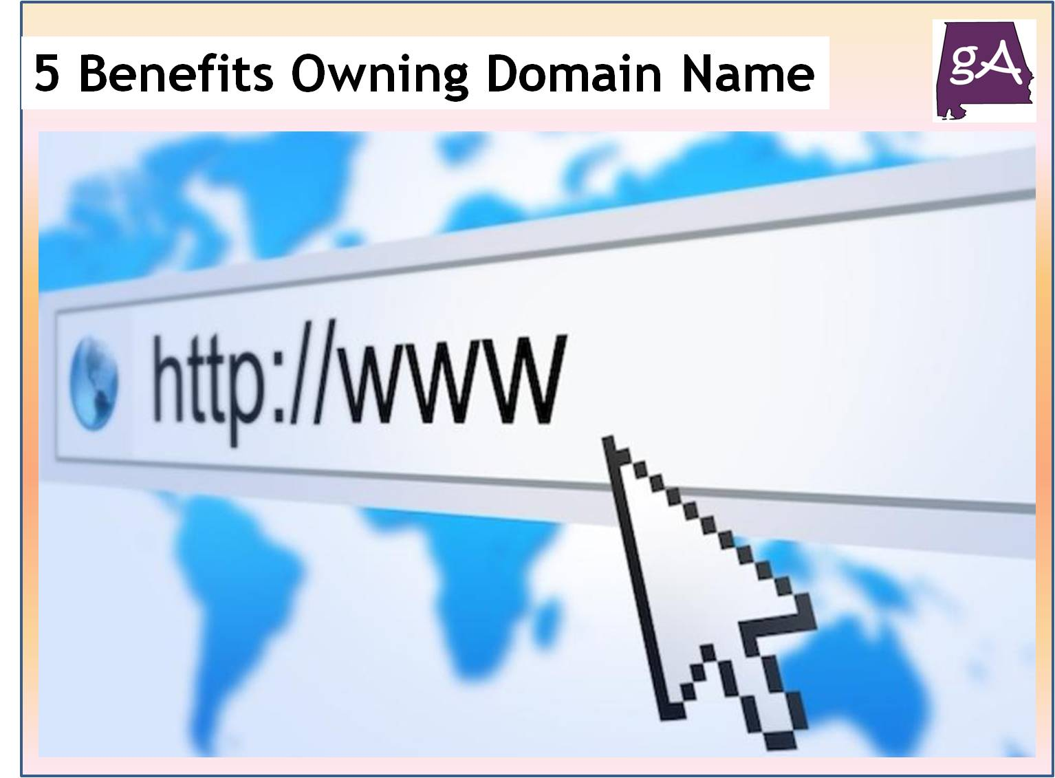 These Are Five Benefits Of Owning A Customized Domain Name