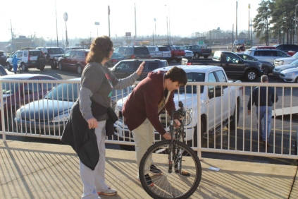 Kiwanis & Martin's Bicycle Giveaway (34)