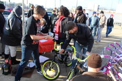 Kiwanis & Martin's Bicycle Giveaway (53)