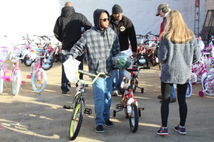 Kiwanis & Martin's Bicycle Giveaway (67)