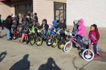 Kiwanis & Martin's Bicycle Giveaway (8)