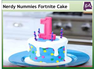 Marvelous Watch Nerdy Nummies Make A Fortnite Cake Geek Alabama Funny Birthday Cards Online Inifofree Goldxyz